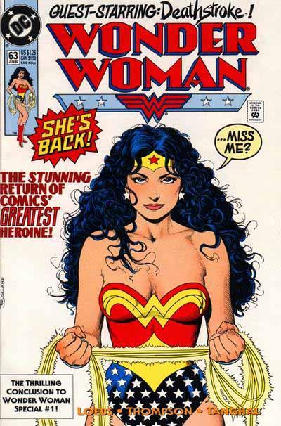 Wonder Woman 63 cover