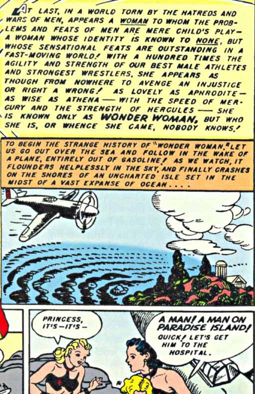 Wonder Woman lettering