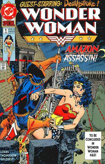 Wonder Woman Special 1 1992 cover