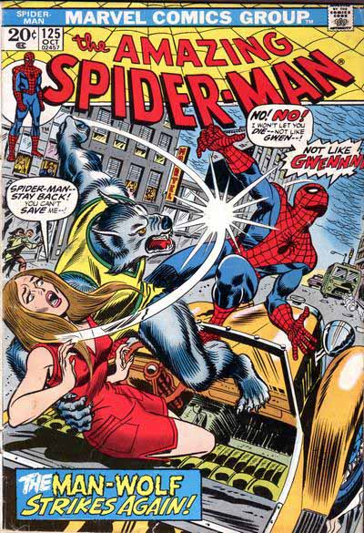 Amazing Spider-Man 125 cover