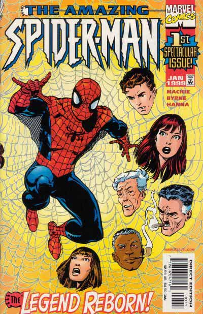 Amazing Spider-Man 1 relaunch cover