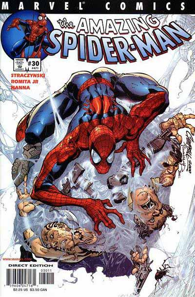 Amazing Spider-Man 30 relaunch cover