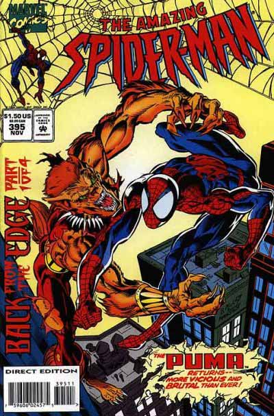 Amazing Spider-Man 395 cover