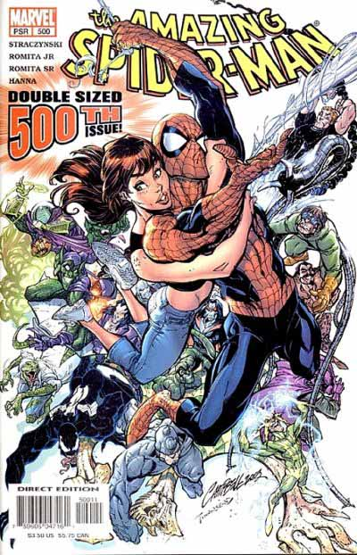 Amazing Spider-Man 500 cover