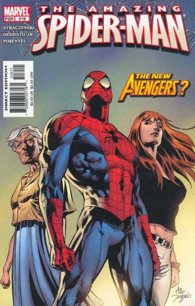 Amazing Spider-Man 519 cover