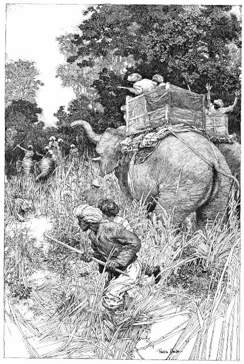 Franklin Booth illustration