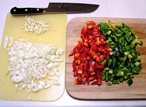 Chopped stuff