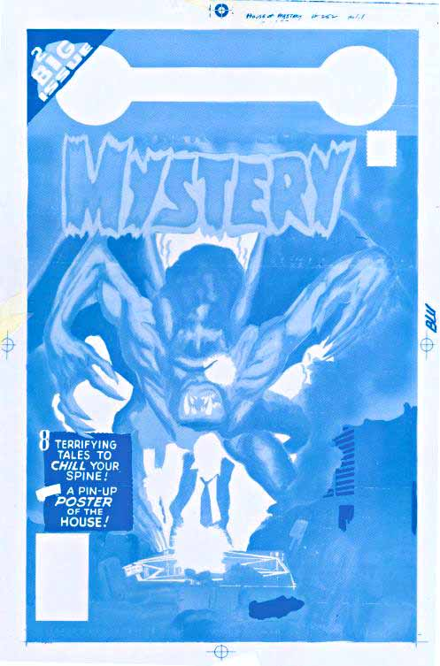 House of Mystery 252 blue only