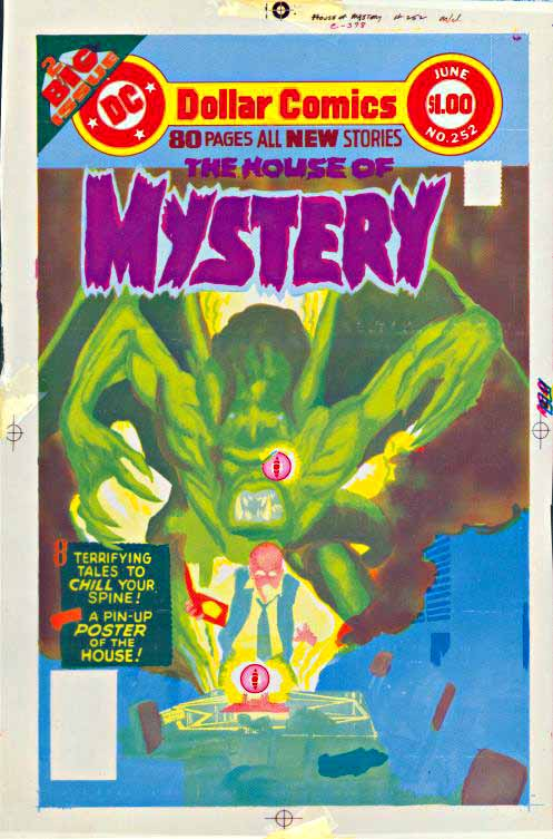 House of Mystery 252 colors only