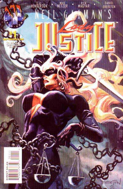 Lady Justice 1 cover