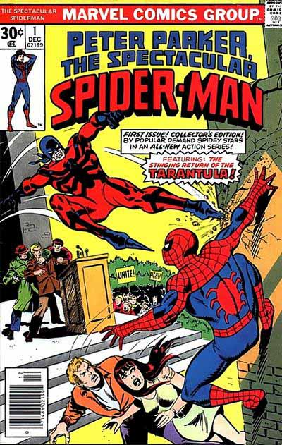 Spectacular Spider-Man 1 cover