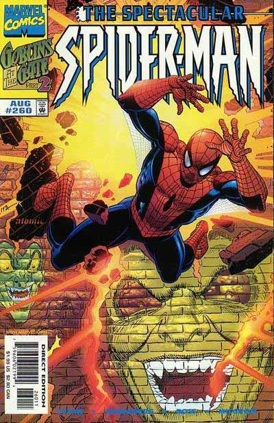 Spectacular Spider-Man 260 cover
