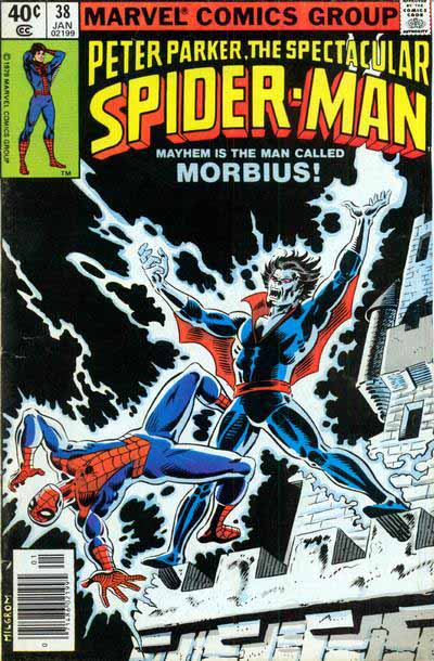 Spectacular Spider-Man 38 cover