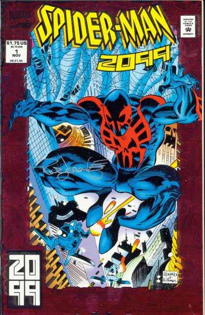 Spider-Man 2099 1 cover
