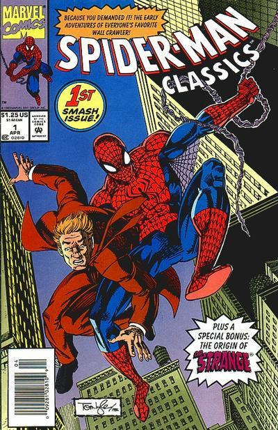 Spider-Man Classics 1 cover