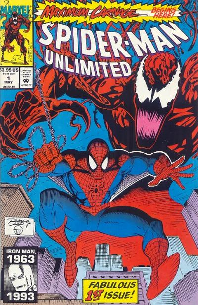 Spider-Man Unlimited 1 cover