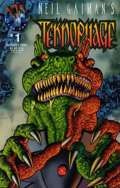 Teknophage 1 cover