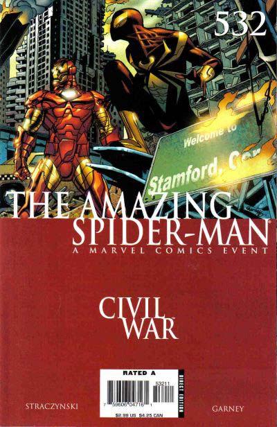 Amazing Spider-Man 532 cover