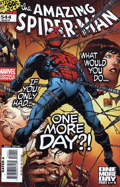 Amazing Spider-Man 544 cover