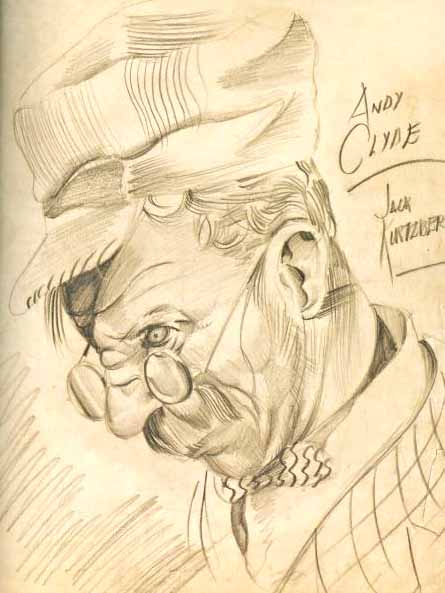 Andy Clyde portrait