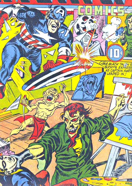 Early Captain America cover