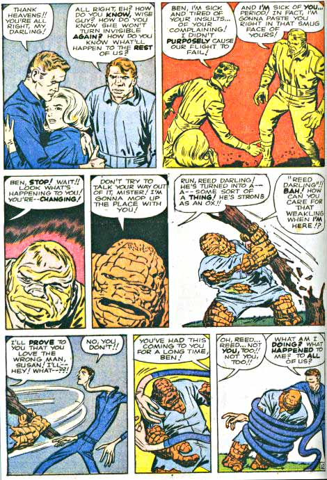 Early Fantastic Four page