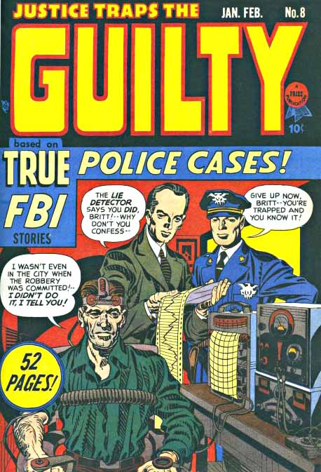 Justice Traps the Guilty 8 cover