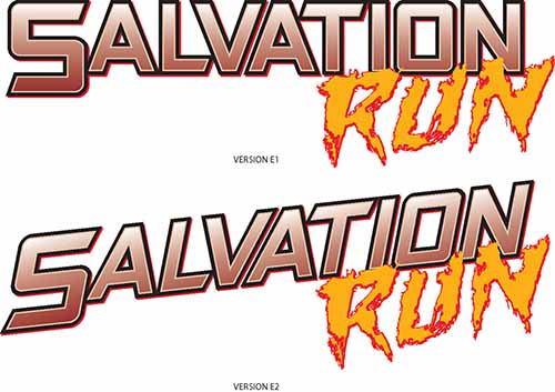Salvation Run sketch E