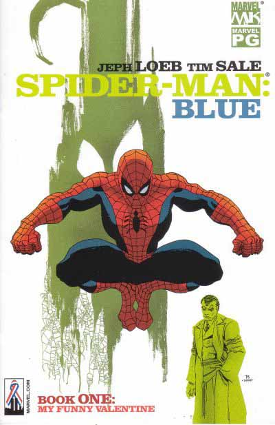 Spider-Man: Blue 1 cover