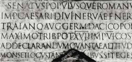 Trajan's Column base