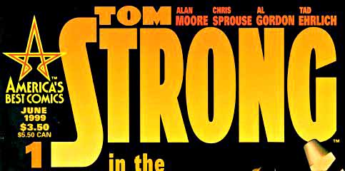 Tom Strong 1 cover section