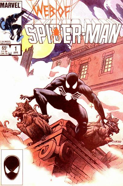 Web of Spider-Man 1 cover
