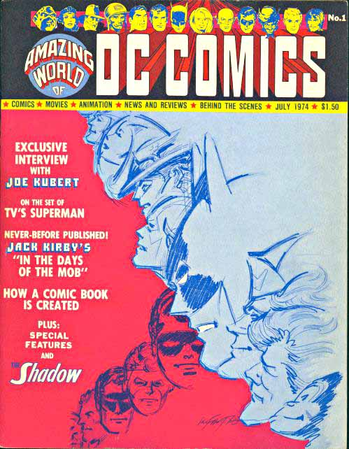 Amazing World DC 1 cover