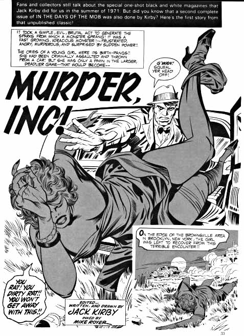 Kirby Mob page