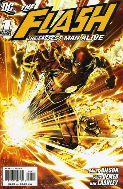 Flash Fastest Man Alive 1 cover