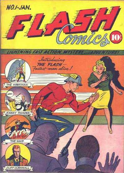 Flash Comics 1 cover