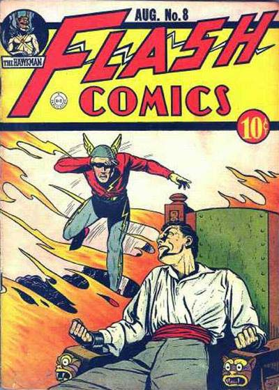 Flash Comics 8 cover