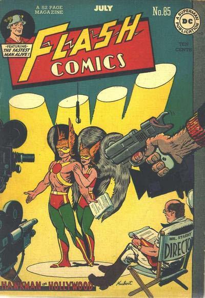 Flash Comics 85 cover