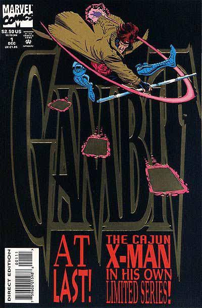 Gambit mini-series 1 cover