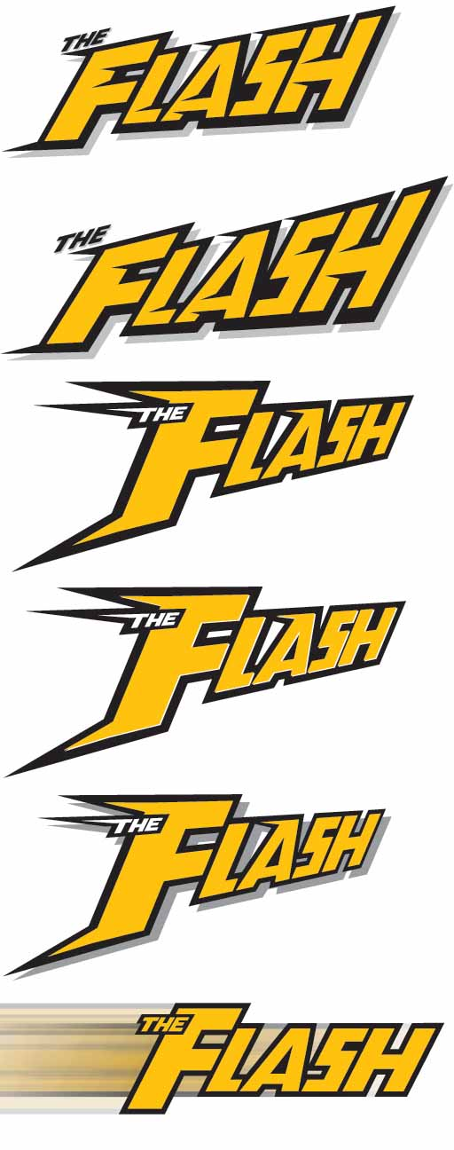 Flash design sketches by Hill