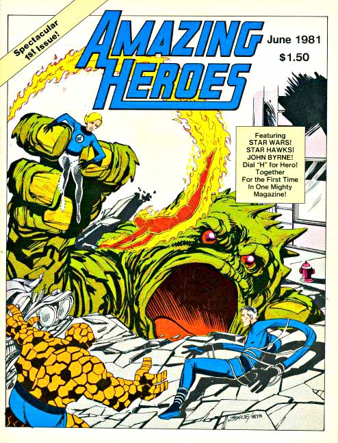 Amazing Heroes 1 cover