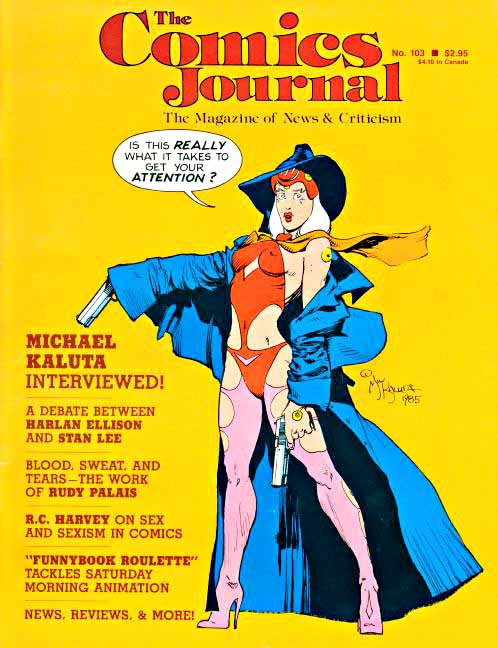 Comics Journal cover