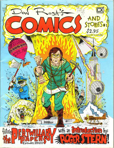 Don Rosa's Comics and Stories cover