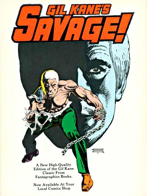 Gil Kane's Savage ad