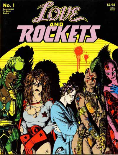 Love and Rockets 1 cover