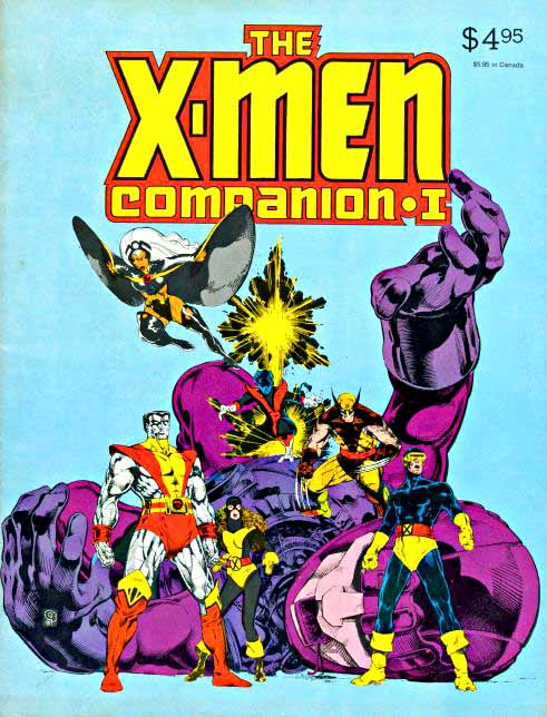 X-Men Companion I cover