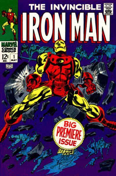 Iron Man 1 cover