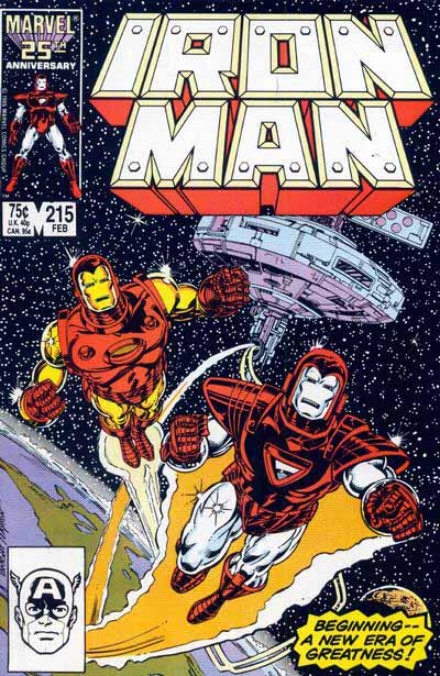 Iron Man 215 cover