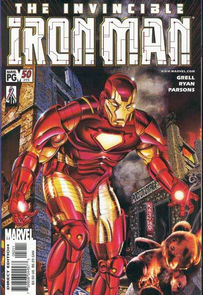 Iron Man 50 cover