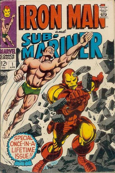 Iron Man and Sub-Mariner 1 cover